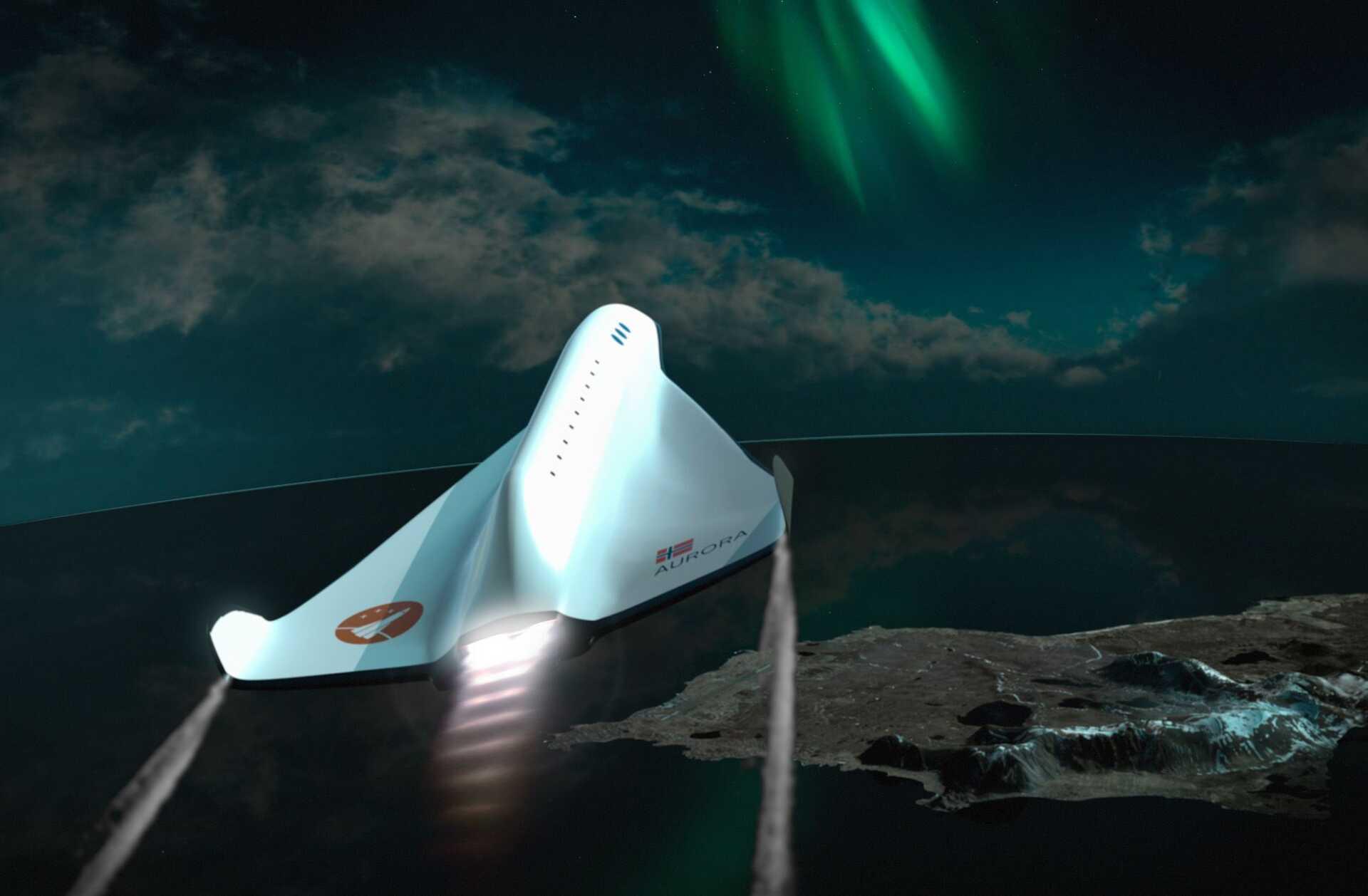 Andøya Space Centre – Spaceship Aurora